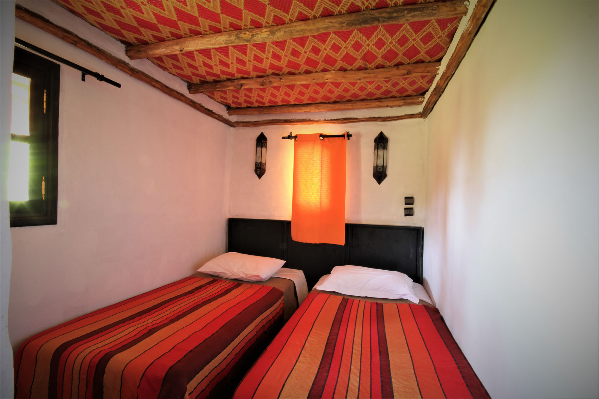 Maison africaine : chambre twin
